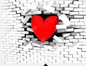 heart through wall