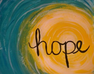 graphic of hope